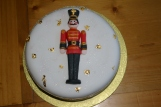 nutcracker Christmas cake 1