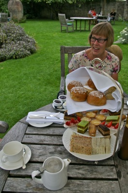 afternoon tea: BEFORE