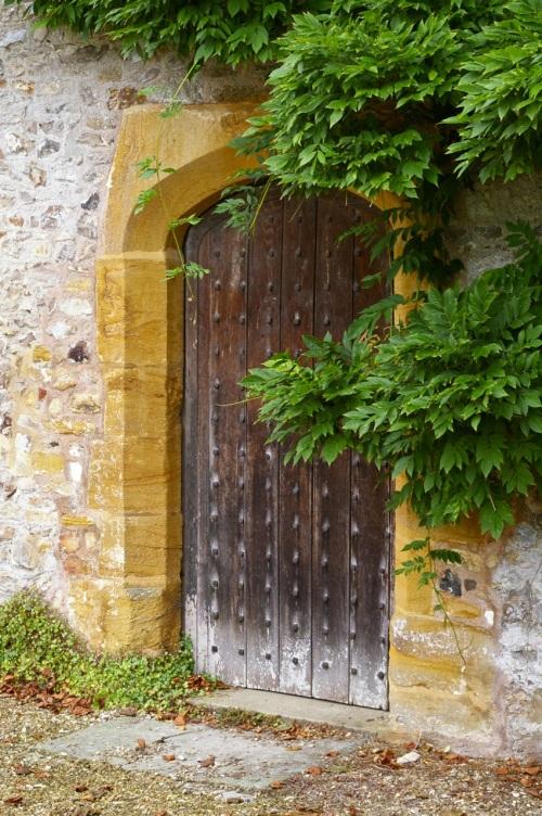always love an old locked door...gets the imagination working