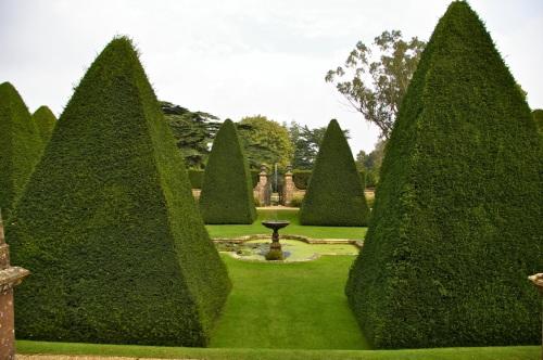 the pyramid garden