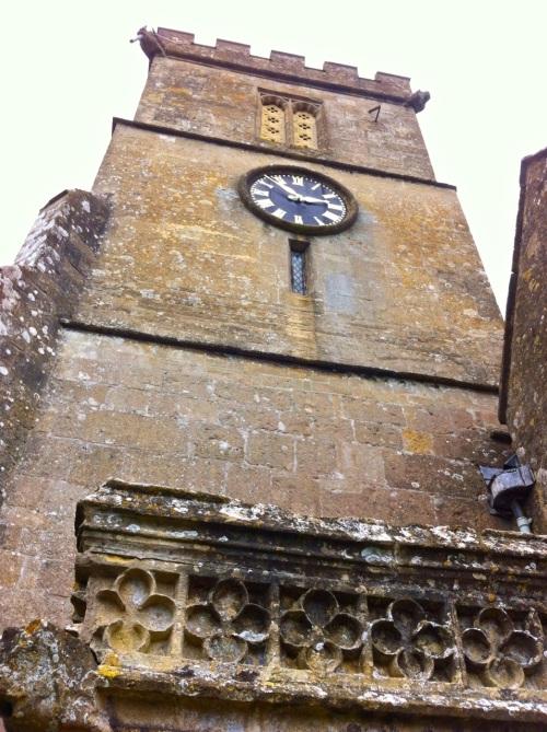 Dyrham Park church tower