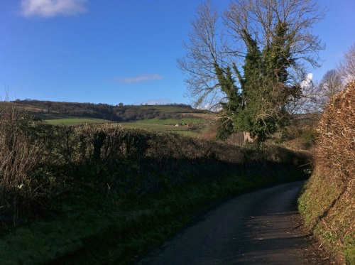 and English country lane