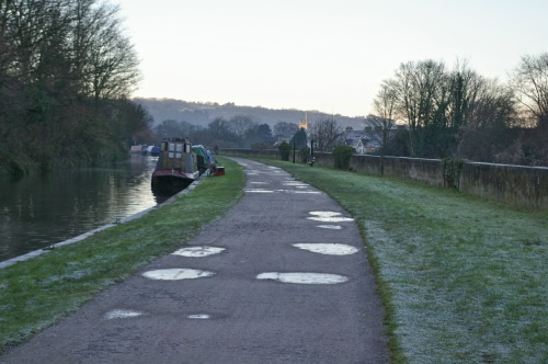 Kennet and Avon canal path